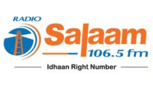 Radio Salaam 106.5 FM Live Online - Dubai