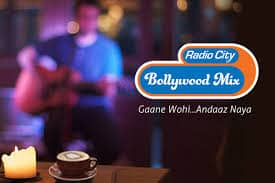 RADIO CITY BOLLYWOOD MIX Live Streaming Online